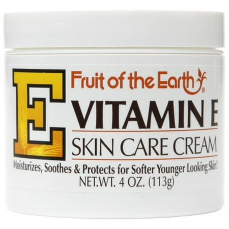 Fruit of the Earth Vitamin E Skin Care Cream 4 oz (Fruit Of The Earth Vitamin C)