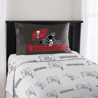NFL Tampa Bay Buccaneers Monument Twin Sheet Set