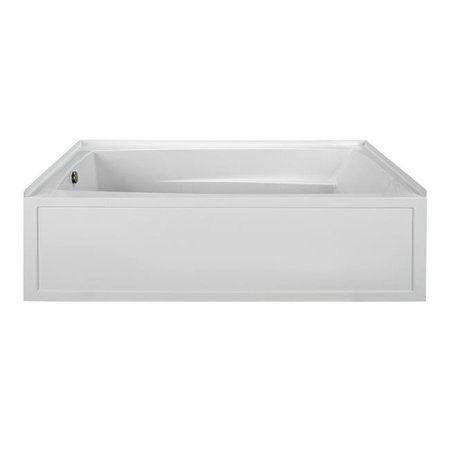 Oval End Drain Air Bath, Biscuit - 72 x 36 x 22.5 in.