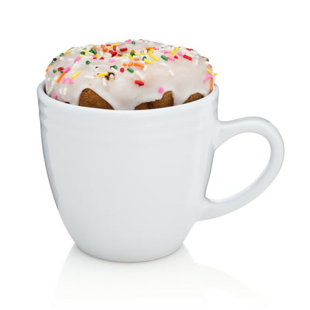 Best Morning Ever Coffee Mug -  These Unique Large Warming Mugs Keep Drinks Hot while keeping Donuts, Pastries and Cookies Warm