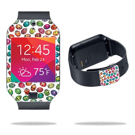 Bug Watch - Skin For Samsung Galaxy Gear 2 Neo Watch – Color Bugs | MightySkins Protective, Durable, and Unique Vinyl Decal wrap cover | Easy To Apply, Remove, and Change Styles | Made in the USA