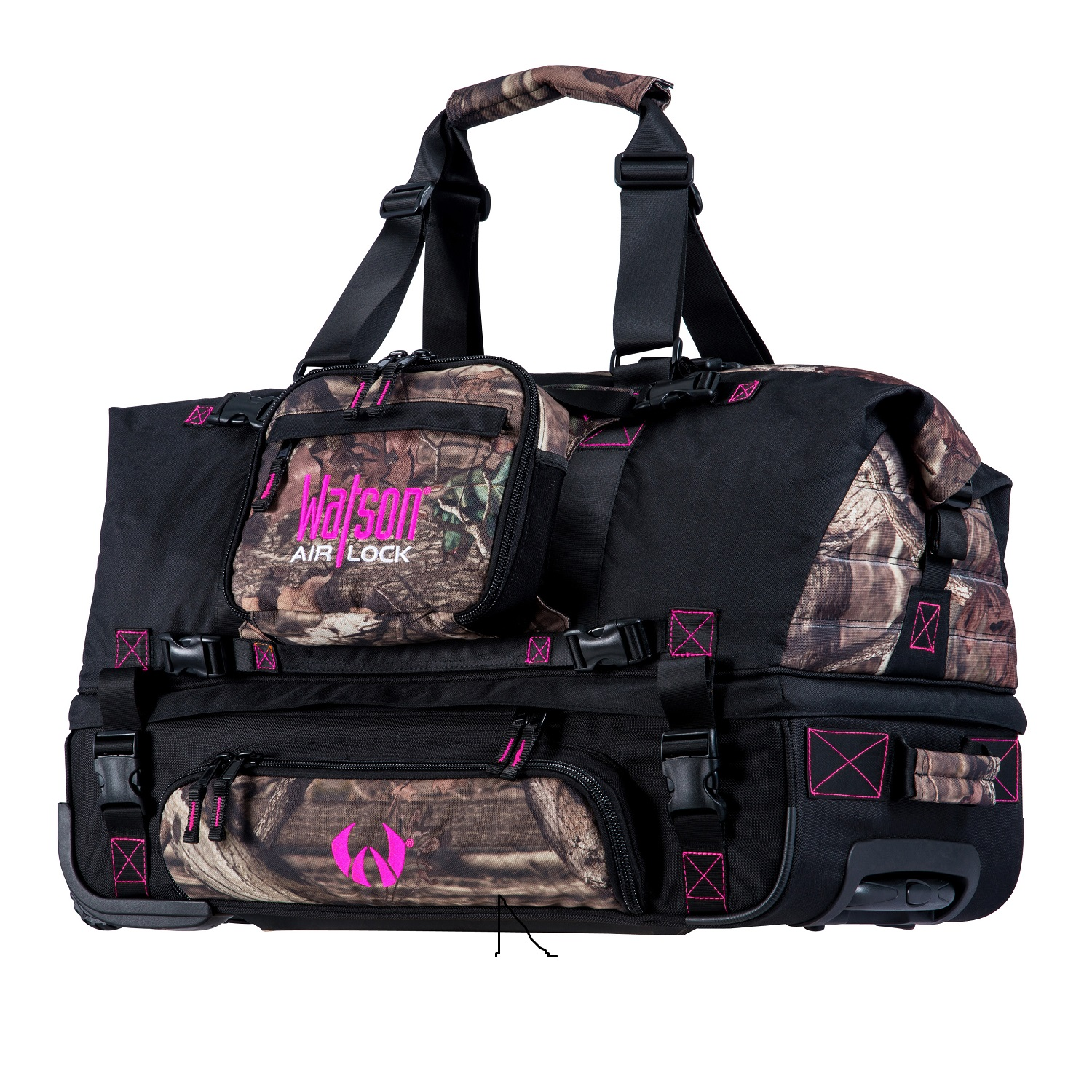Watson Airlock Bottomless26 Travel Bag Pink/Mossy Oak WPBUIBRB3026