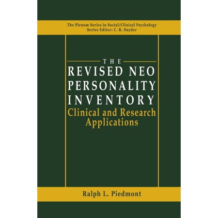 The Revised NEO Personality Inventory - eBook