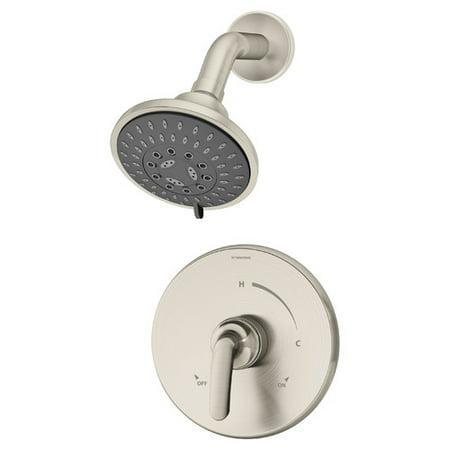 Pressure Balance Shower Set Lever (Symmons Elm Pressure Balance Shower Faucet with Lever)