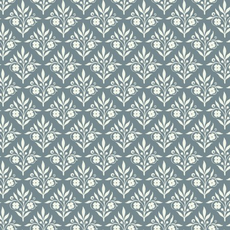 Emma & Mila from the Love Collection Sweet Scrolls Grey Fabric, per