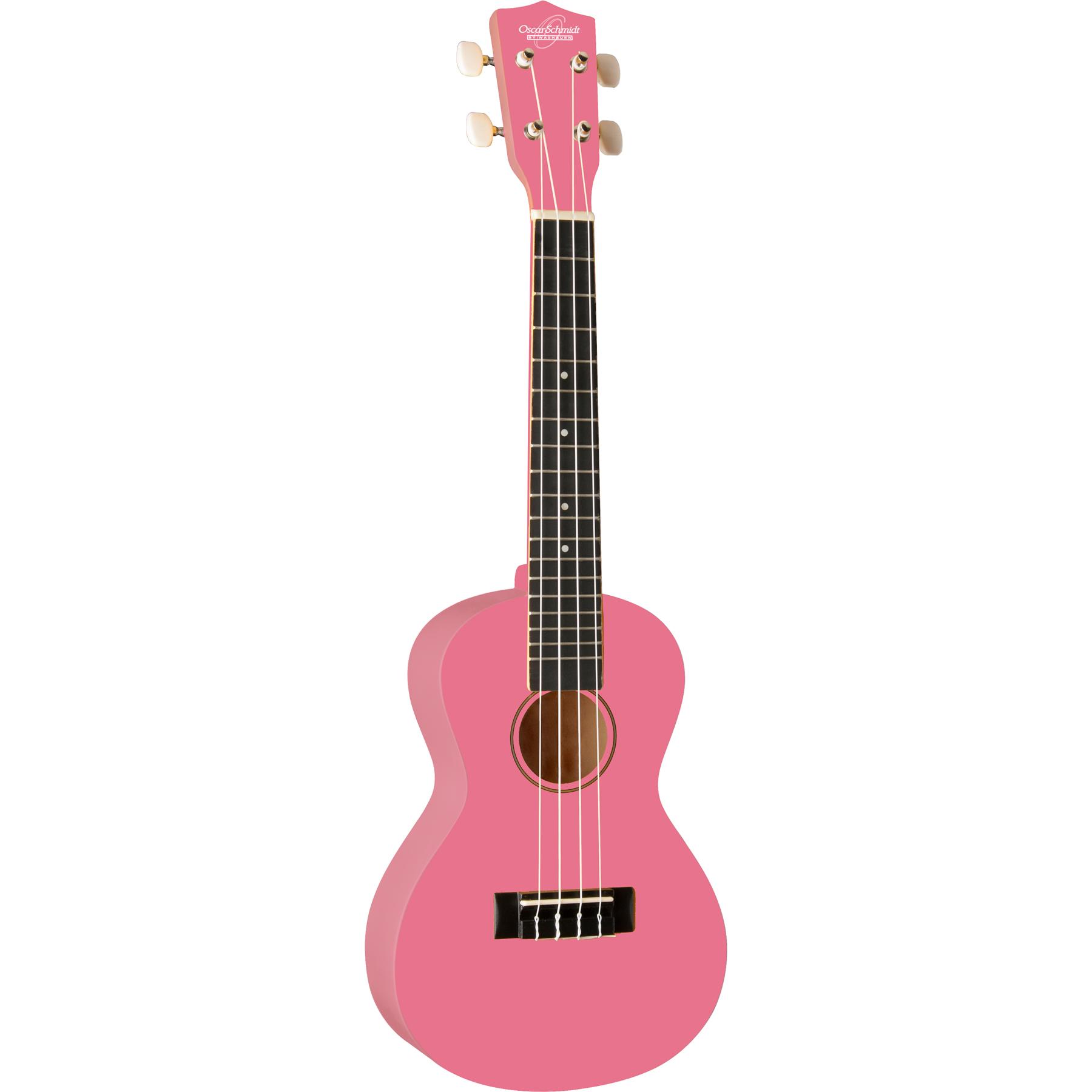 Oscar Schmidt Model OU1CP Concert Size Ukulele (Pink) by Oscar Schmidt