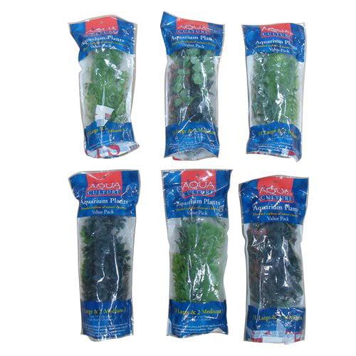 Aqua Culture Aquarium Plants Value Pack, 3 ct by Generic
