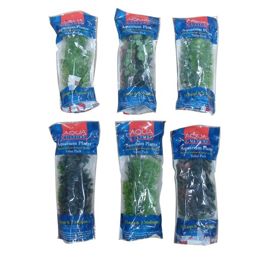 Aqua Culture Aquarium Plants Value Pack, 3pk
