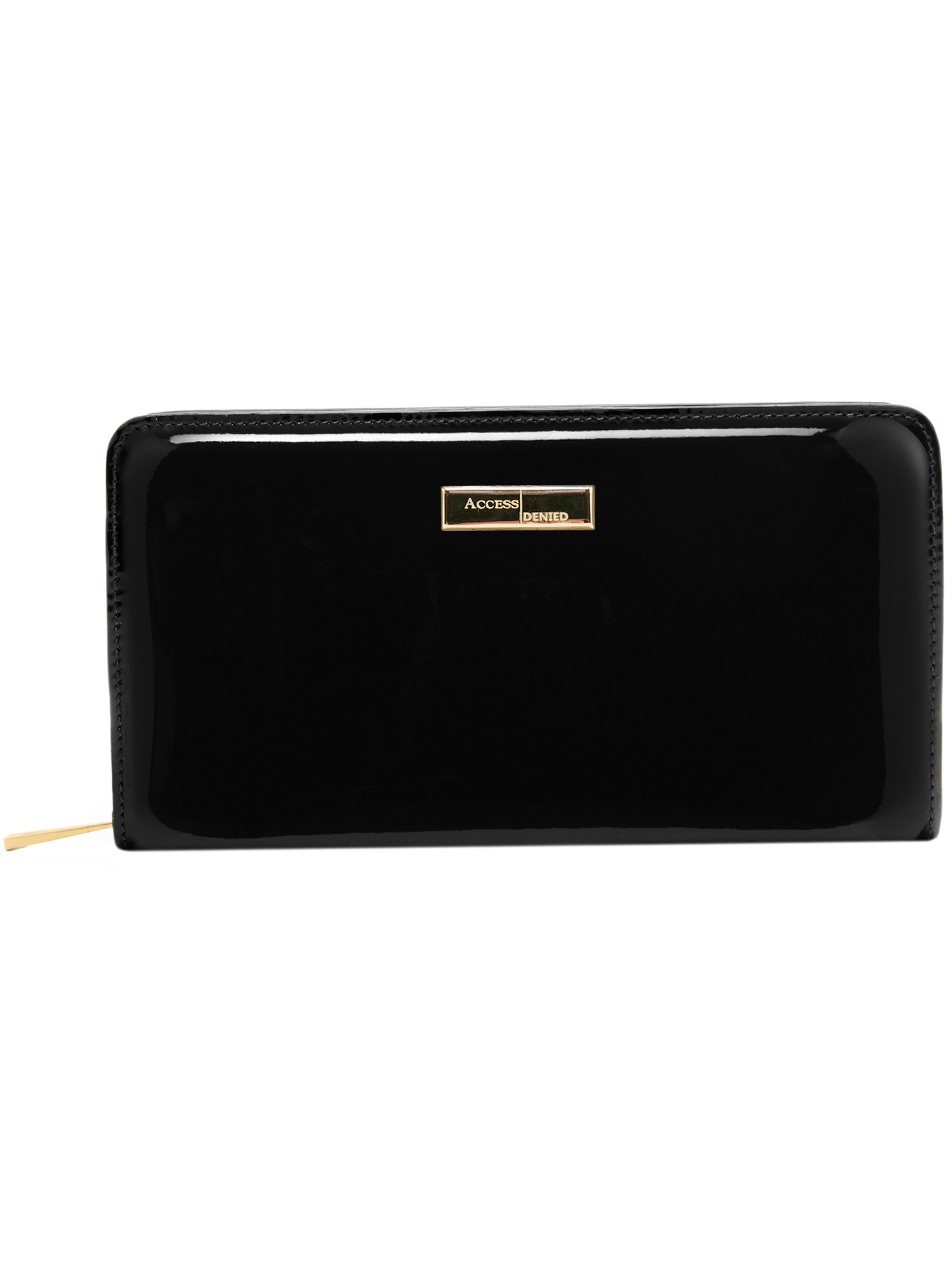 Genuine Leather Wallets For Women - Womens Ladies Clutch With Zipper RFID Blocking