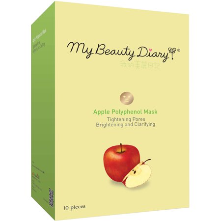 My Beauty Diary Apple Polyphenol Face Mask, 10 count