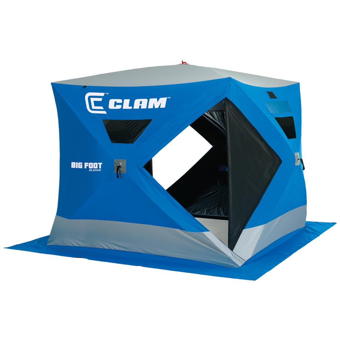 Clam Bigfoot XL2000 4-5 Person Outdoor Portable Pop Up Ic...