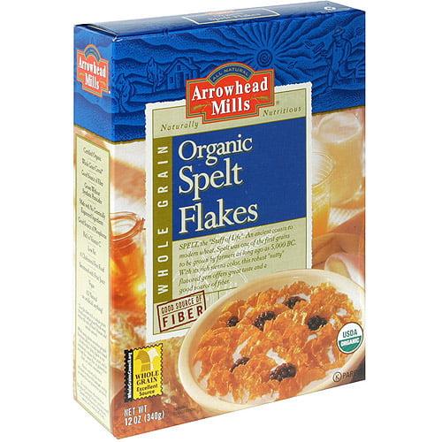 Arrowhead Mills Organic Spelt Flakes, 12 oz (Pack of 12)