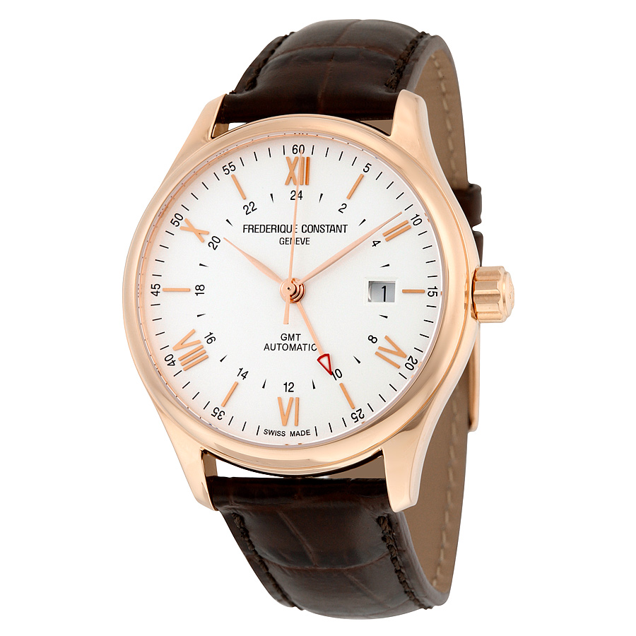 Frederique Constant Classics Index GMT Automatic Mens Wat...