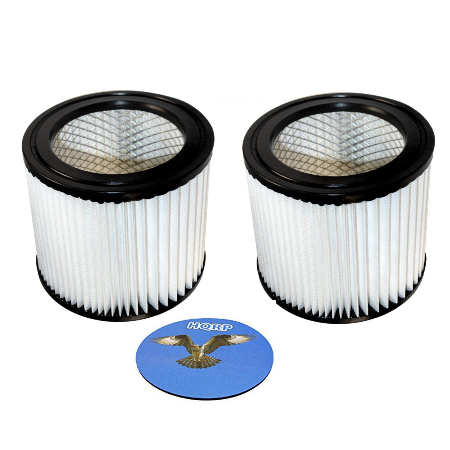 HQRP 2-pack Cartridge Filter for Shop-vac H87 H87S series H87S450 H87S550A H87S650C H87S600Cr Brute 5 Gallon Wet Dry Vacuum + HQRP Coaster - image 3 of 4