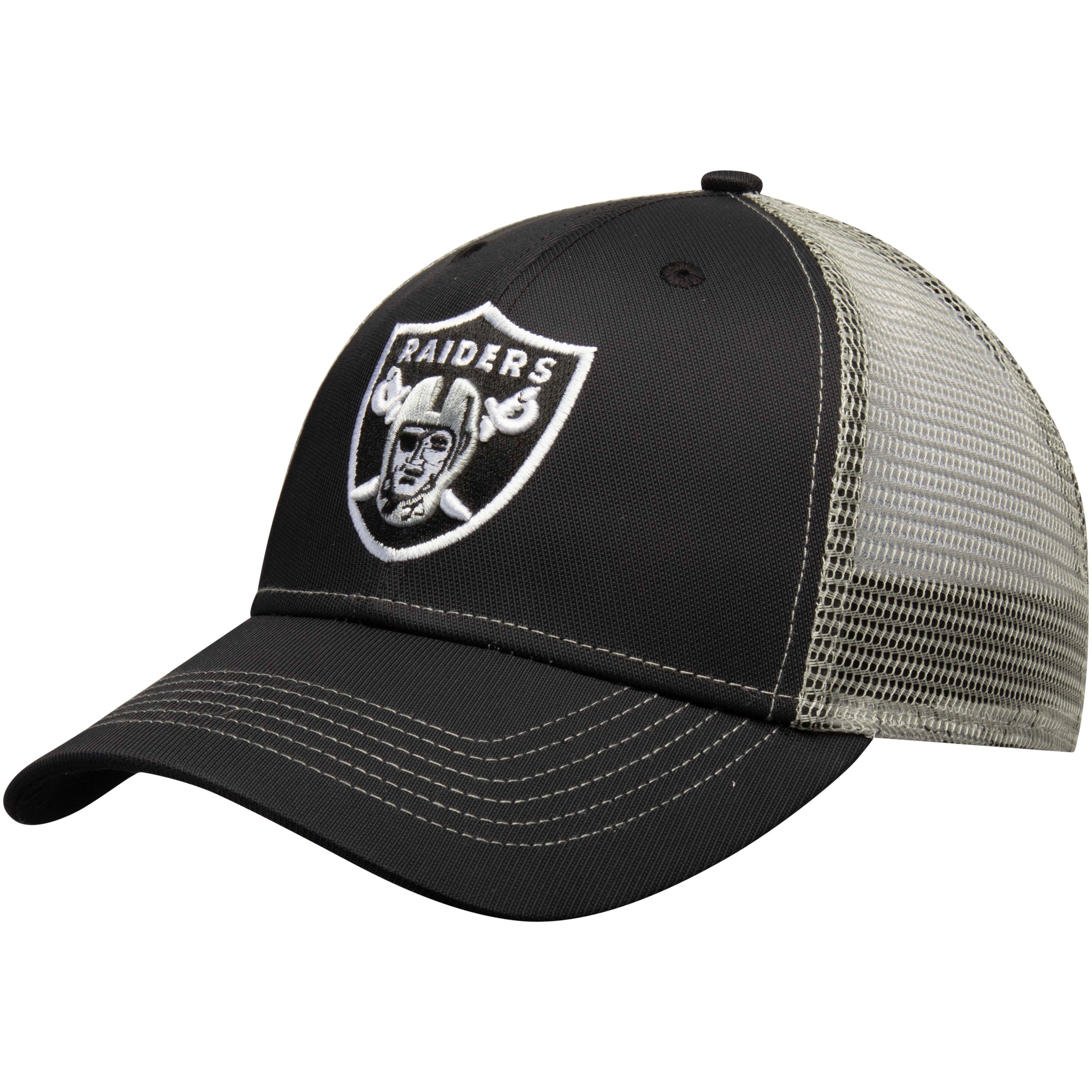 Men's Black Oakland Raiders Explore Adjustable Hat - OSFA