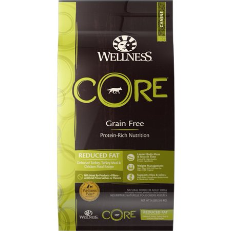 Wellness Core Grain-Free Reduced Fat Adult Dry Dog Food, 12 lb