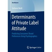 Determinants of Private Label Attitude : Predicting Consumers' Brand Preferences Using Psychographics