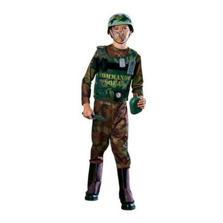 Commando Costume Rubies 38590, Small