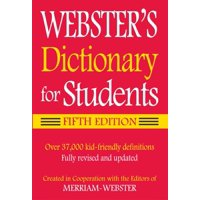 Webster's Dictionary for Students (Paperback)