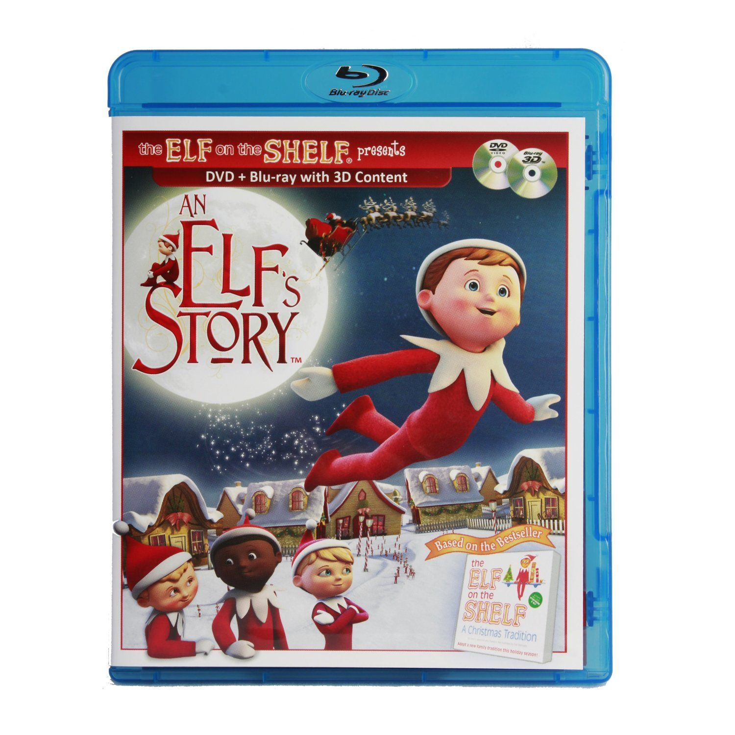 An Elf's Story DVD & Blu-ray Combo Movie Set By Elf On The