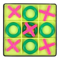 Tic Tac Toe Puzzle Board Game OX Chess Educational Toy Multi