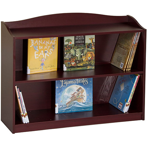 Guidecraft 3-Shelf Bookshelf, Cherry