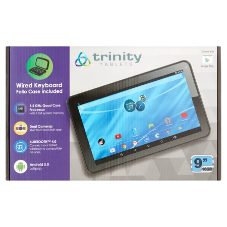 "Trinity Tablets 9"" 16GB High Definition Tablet"