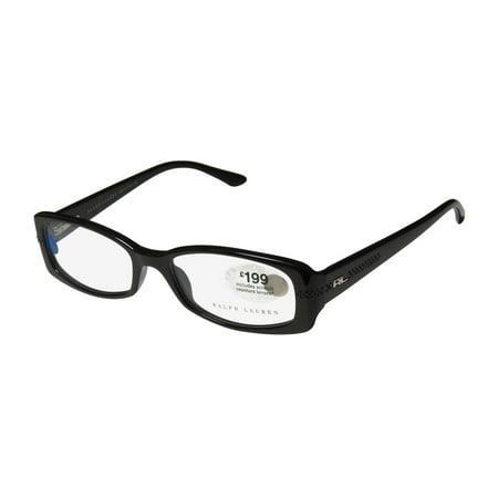 New Ralph Lauren 6029-B Womens/Ladies Designer Full-Rim Brown Comfortable With Strass Frame Demo Lenses 50-16-135 Rhinestones Flexible Hinges Eyeglasses/Eye (Ralph Lauren Glass)