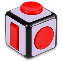Skin Decal Wrap for Fidget Cube sticker Solid Lilac