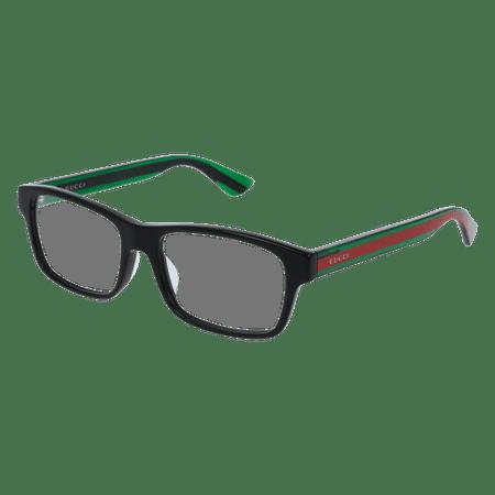 Gucci GG0006OA Eyeglass 55mm BLACK (Gucci Brille Frames Für Frauen)