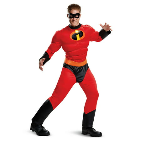 Incredibles 2 Mr. Incredible Classic Muscle Adult Halloween Costume (Incredible Costumes For Adults)