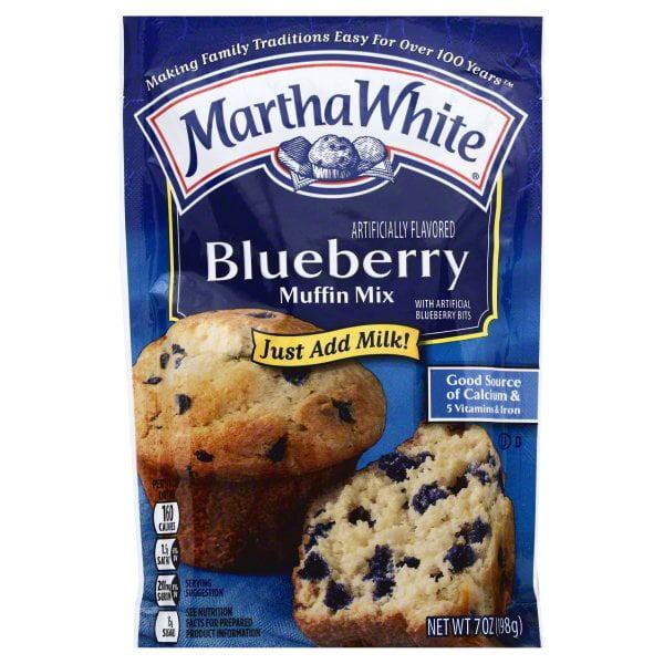 Martha White Blueberry Muffin Mix, 7-Ounce