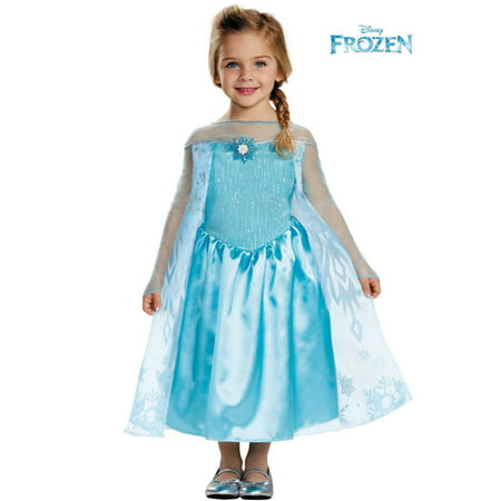 Elsa Toddler Classic Costume - Elsa In Frozen Costume