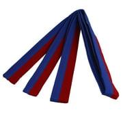 Blue Red Long Nylon Strap Karate TaeKwonDo Judo Belt 9Ft 2.74M by