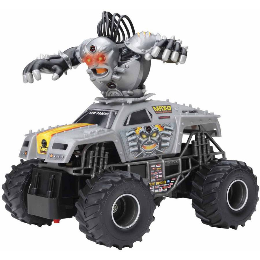 Monster Jam Bursts Max-D Full Function Radio-Controlled Vehicle