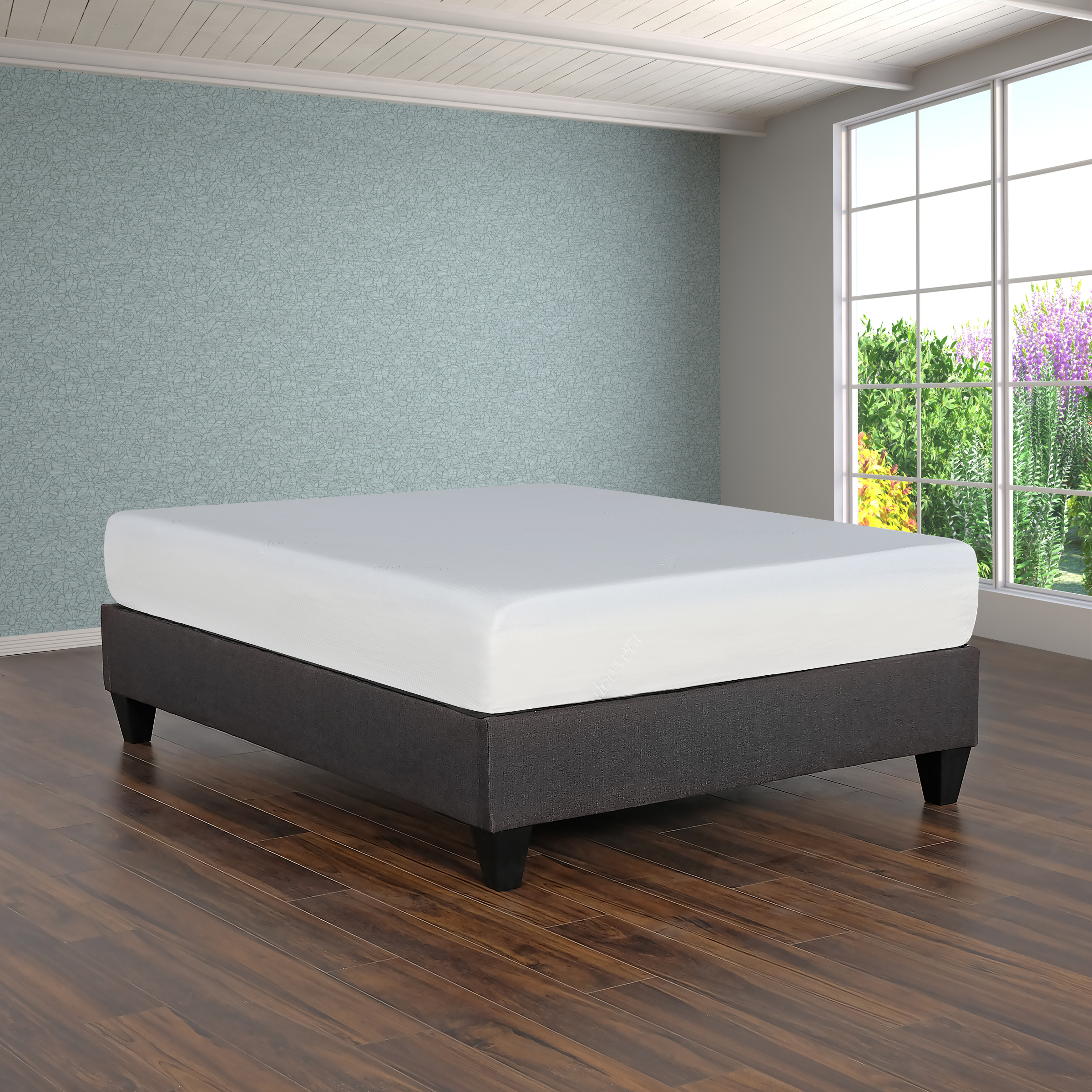 "Primo International Super Divine Plush 10"" Gel Memory Foam Mattress, Multiple Sizes"