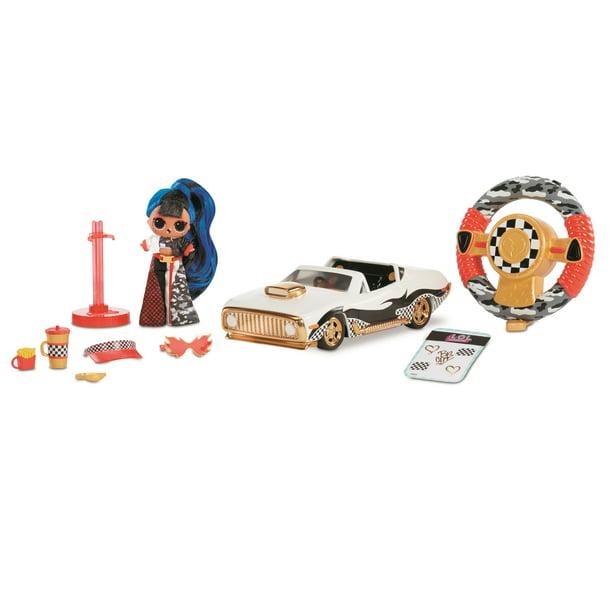 LOL Surprise RC Wheels Remote Control Car Limited Edition Downtown Fashion Doll