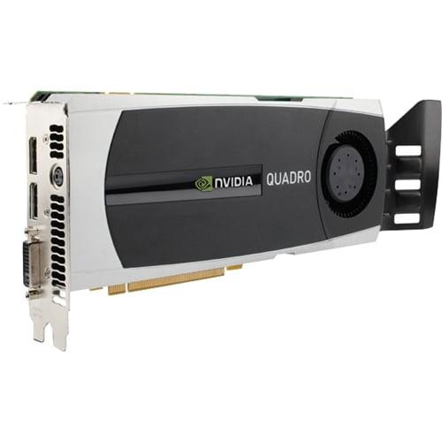 6GB HP Quadro 6000 DVI-I 2x DisplayPort PCI Express 2.0 x16 GDDR5 Sli WS097AA Graphics Card P
