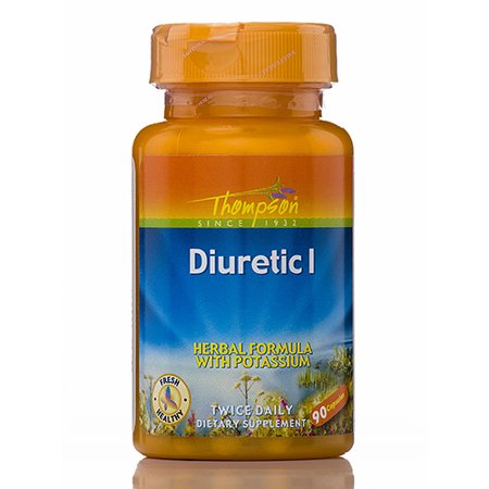 THOMPSON - Diuretic I Herbal Formula with Potassium - 90 Capsules