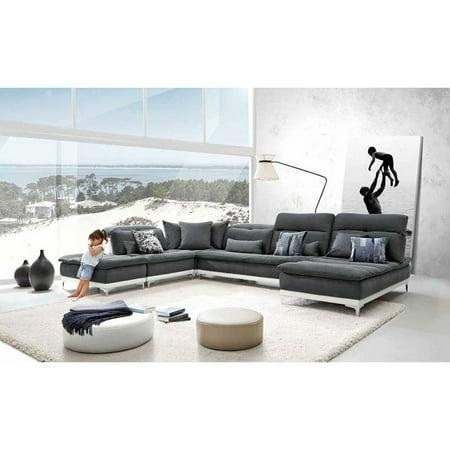 Lusso Horizon Modern Sectional Sofa