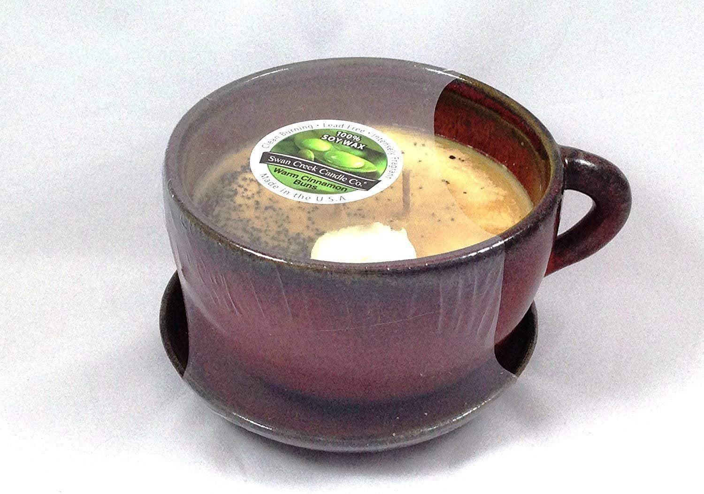 Swan Creek Coffee Mug Scented Candle Large 11 oz (Warm ...