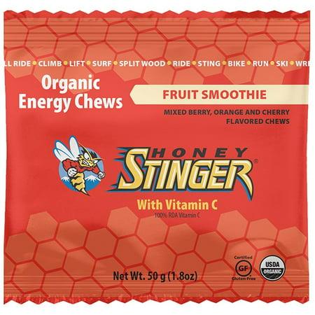 Honey Stinger, Organic Energy Fruit Smoothie Chews, 1.8 Oz, 12 Ct