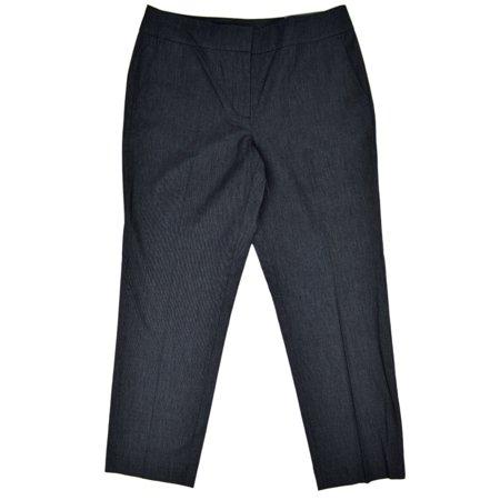 Ann Taylor Lace (New  16012 Ann Taylor Womens Denim Blue Signature Fit Cropped Trousers Pants Sz)