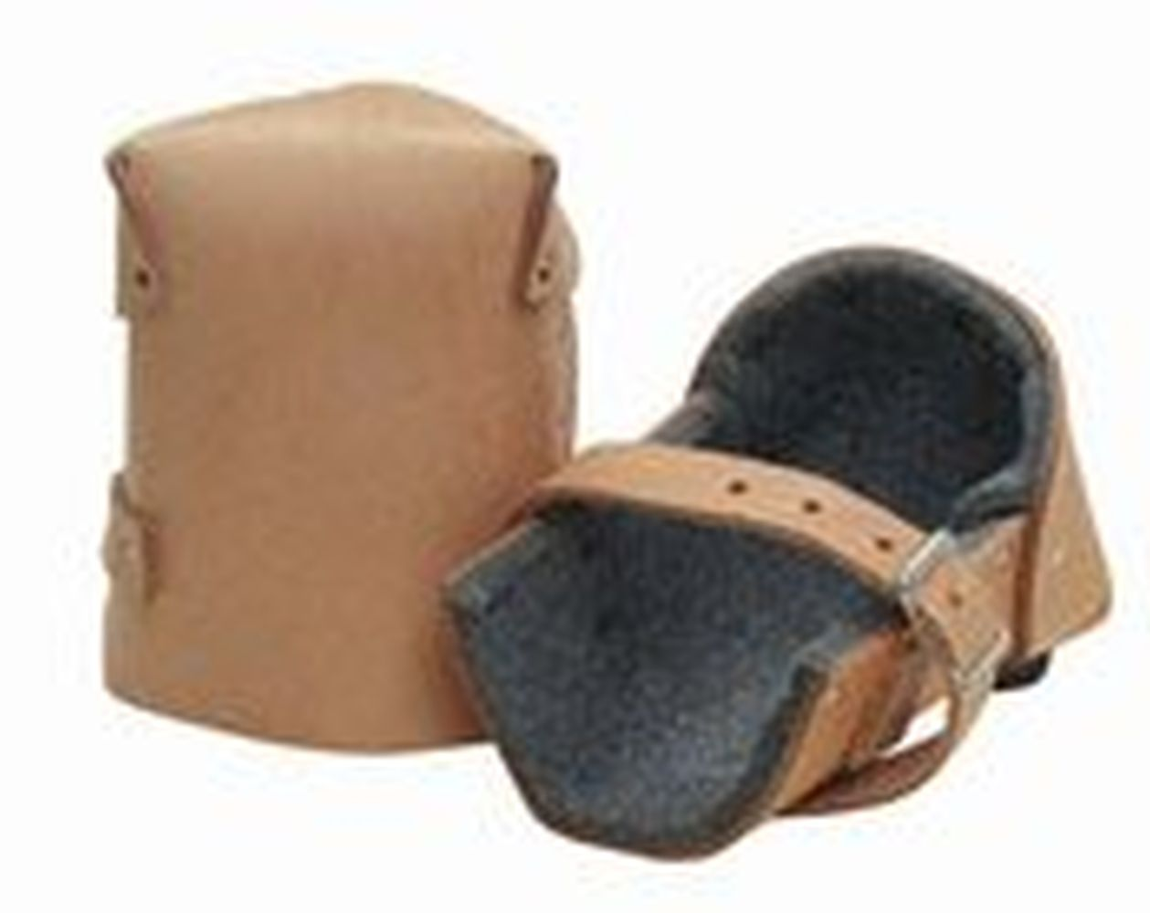 """Kraft WL088 1"""" Thick Felt Leather Knee Pads by"""