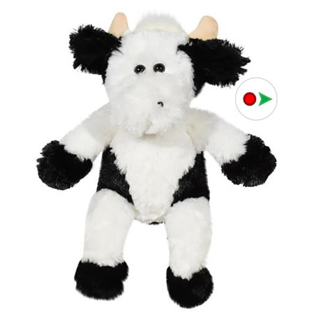 Cuddly Soft 16 inch Stuffed Latte the Cow - We stuff 'em...you love - Cuddly Cow