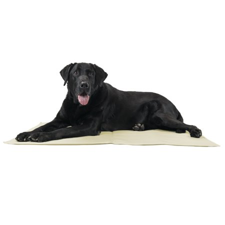 FurHaven Pet Cooling Pad | Pupicicle Cool Gel Pet Pad, Tan, (Best Dog Cooling Pad)