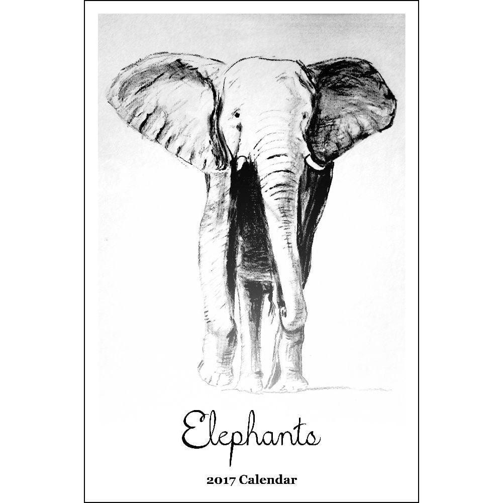 Elephants Poster Wall