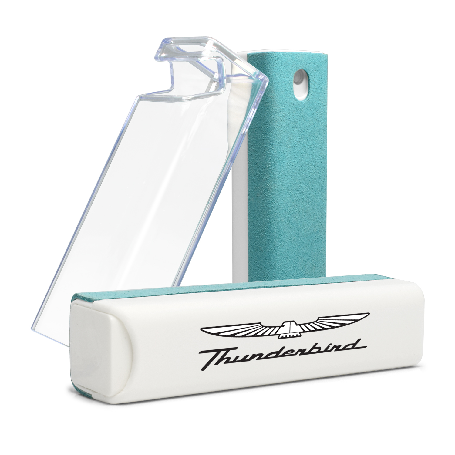 Ford Thunderbird Blue Microfiber Screen Cleaner for Car Navigation, Cell Phone