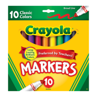 Deals on 2-Pack Crayola Marker Set 10-Colors