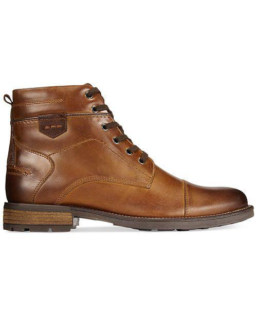 Alfani Men's Jack Cap Toe Boots Brown